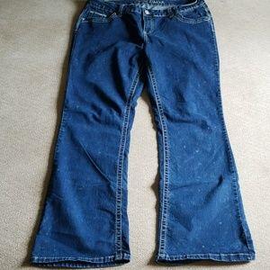 Amethyst jeans plus size 18 x 32